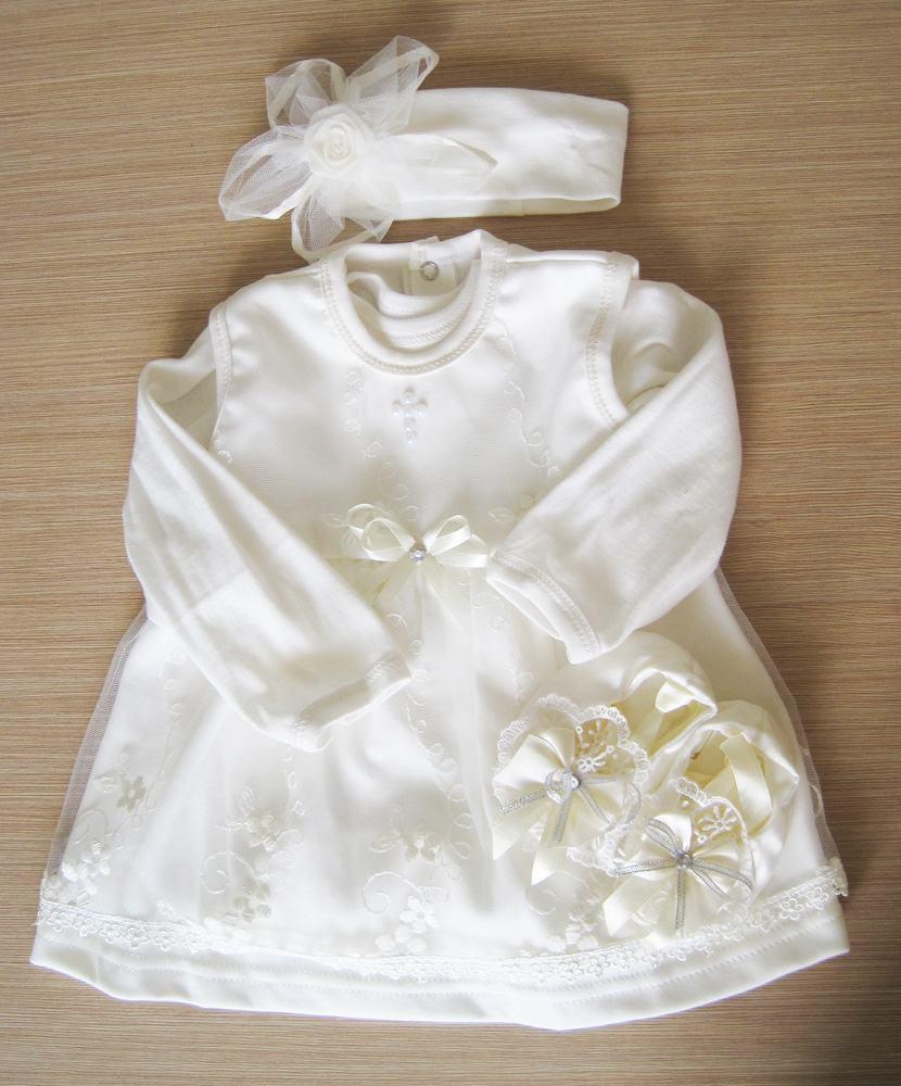 купить крестильный набор для 2 месяцев девочки