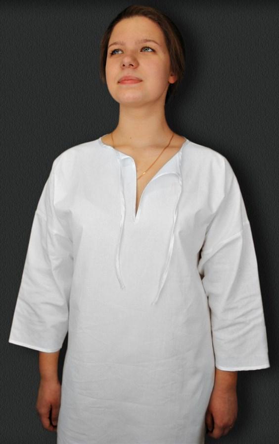 ca3b3e928d9350d Купить Крестильная рубашка для женщин, арт ПМТ-0319 по низкой цене в ...